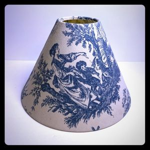 LAMP SHADE Vintage French Country Toile